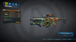 Borderlands 3 Legendary Dahl Assault Rifle - Barrage