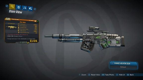 Borderlands 3 Legendary Dahl Assault Rifle - Star Helix