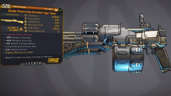 Borderlands 3 Legendary Torgue Shotgun - Tiggs Boom