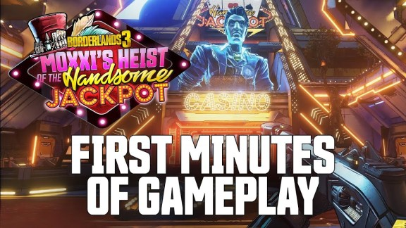 13 Min gameplay of Moxxi's Heist - Borderlands 3
