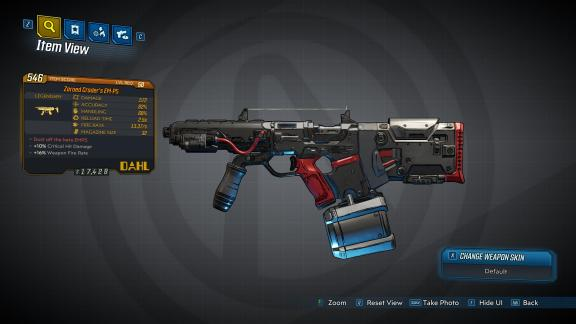 Borderlands 3 Legendary Dahl SMG - Crader's EM-P5