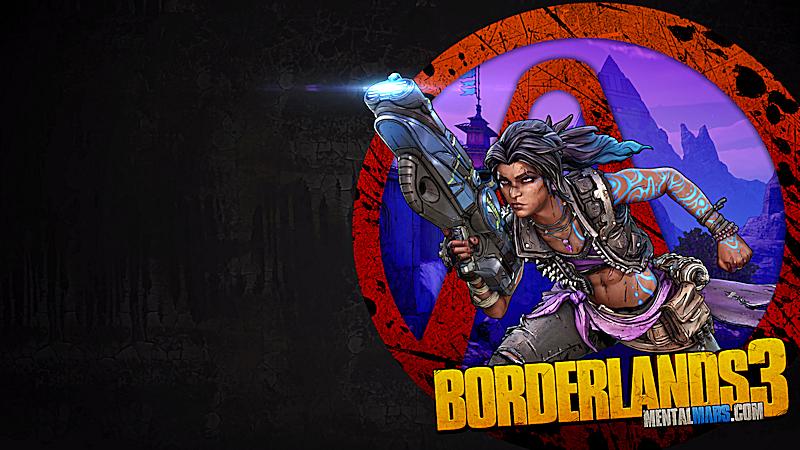 Borderlands 3 Vault Symbol Wallpaper - Amara