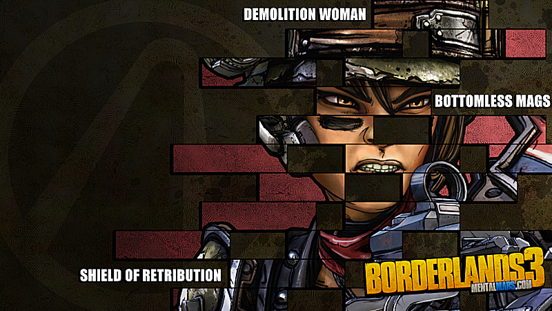Borderlands 3 Legacy Wallpaper - Moze - Preview