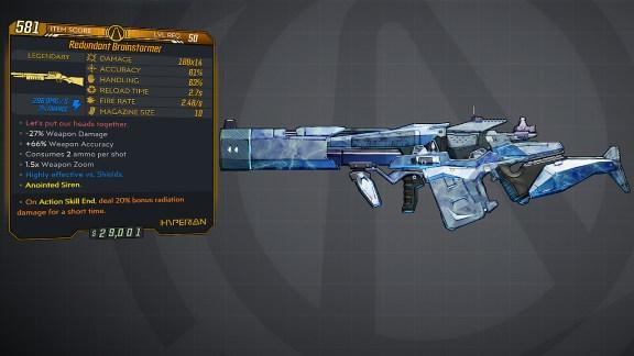 Borderlands 3 Legendary Hyperion Shotgun - Brainstormer