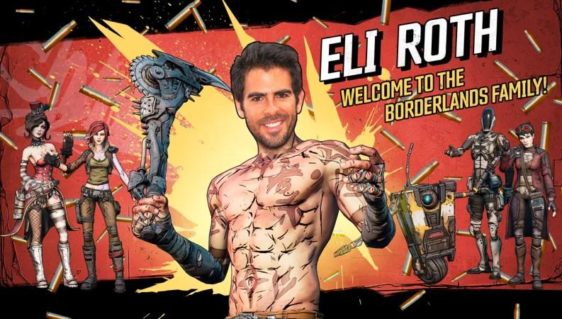Eli Roth Director Borderlands Movie