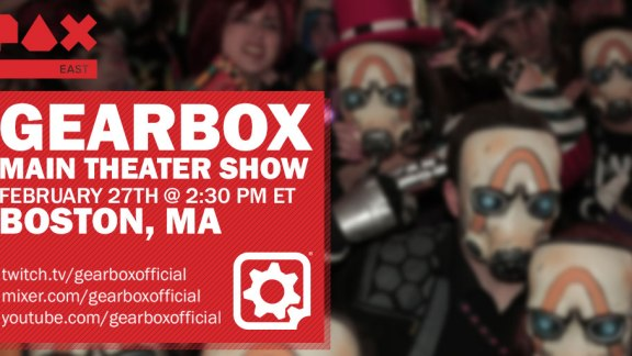 Gearbox Main Theater Show Pax East 2020