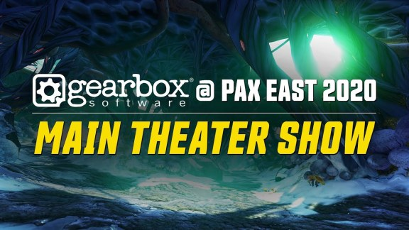Gearbox Main Theater Show at PAX East 2020