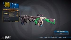 Borderlands 3 Legendary Jakobs Assault Rifle - Loaded Unflappable Mutant