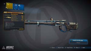 Borderlands 3 Legendary Jakobs Sniper Rifle - Daisy Skullmasher
