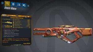Borderlands 3 Legendary Maliwan Sniper Rifle - Firestorm