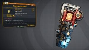 Borderlands 3 Legendary Tediore Grenade Mod - Hunter-Seeker
