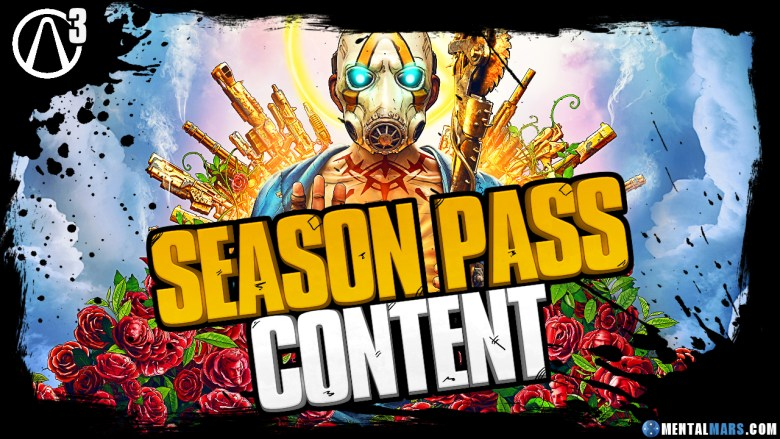 Borderlands 3 Season Passes
