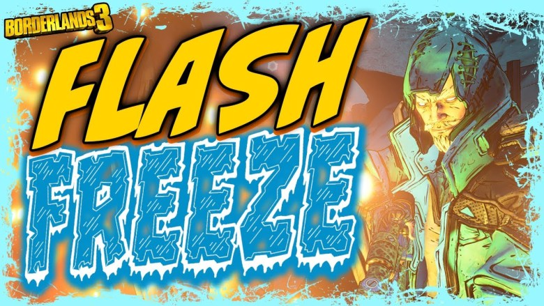 Zane - Flash Freeze Build - Borderlands 3
