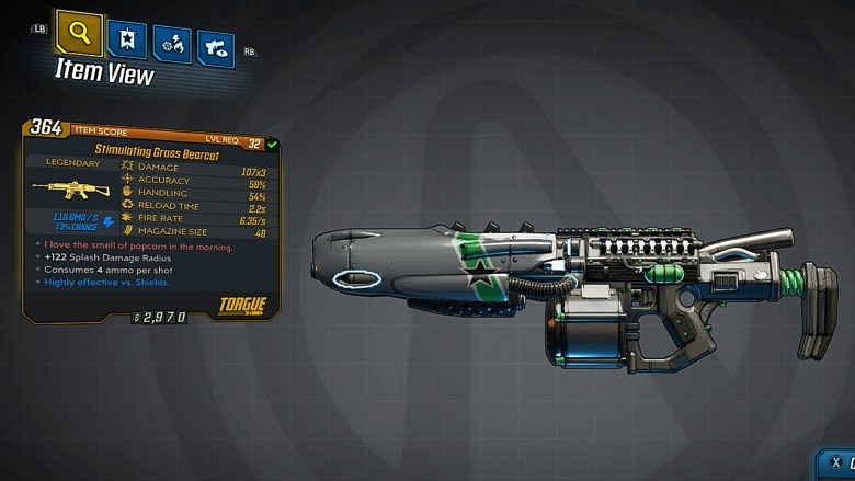 Borderlands 3 Legendary Torgue Assault Rifle - Bearcat