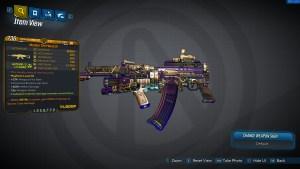 Borderlands 3 Legendary Vladof Assault Rifle - The Monarch - LVL65
