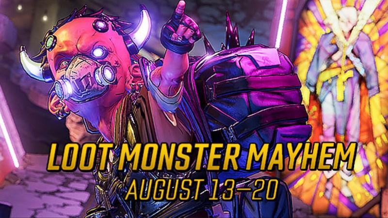 Loot Monster Mayhem 2020 - Borderlands 3 Event