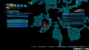 Portal Chest - Cursehaven - Withernot Cemetery Map - Borderlands 3