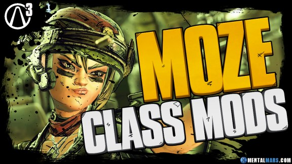 Borderlands 3 Moze Legendary Class Mods