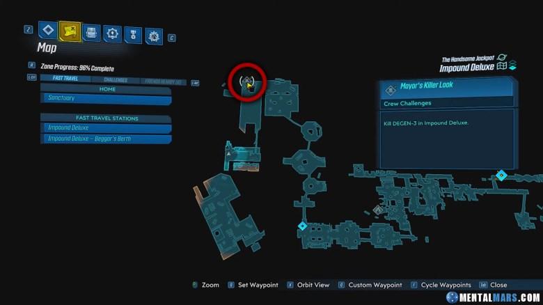 DEGEN-3 Location Guide - Borderlands 3