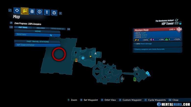 Jackbot Location Guide - Borderlands 3