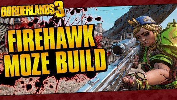 Moze - Firehawk Build - Borderlands 3