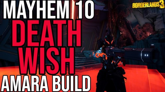 Amara - Deathwish Build - Borderlands 3