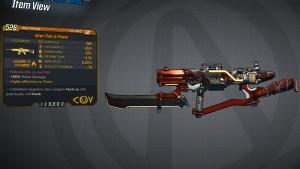 Borderlands 3 Legendary COV Assault Rifle - Pain is Power