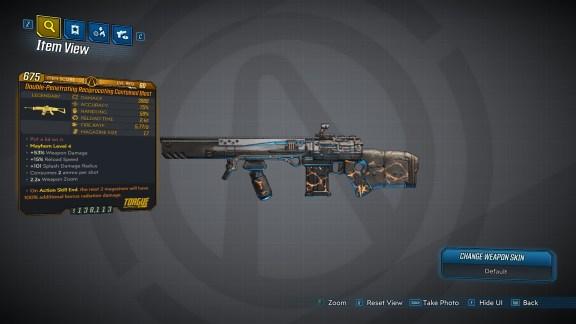 Borderlands 3 Legendary Torgue Assault Rifle - Contained Blast