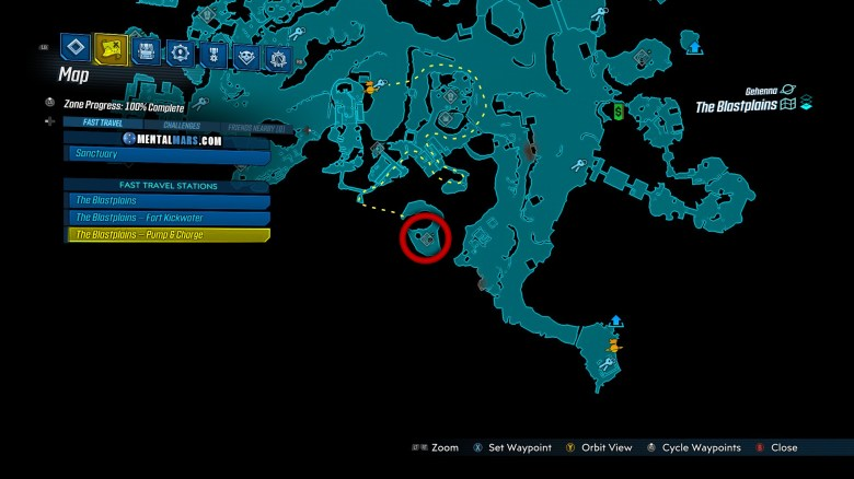 Pteradomini Spawn Location - Borderlands 3 Bounty of Blood