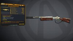 Borderlands 3 Legendary Jakobs Assault Rifle - Stonethrower