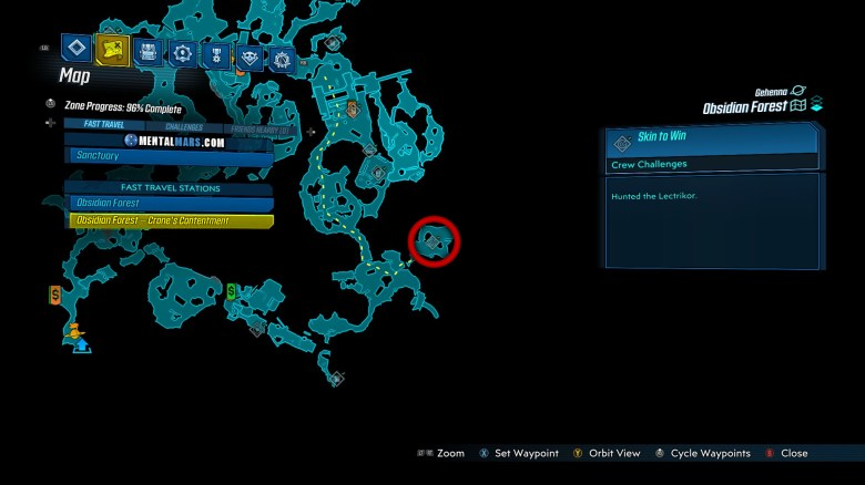 Lectrikor Spawn Location - Borderlands 3 Bounty of Blood
