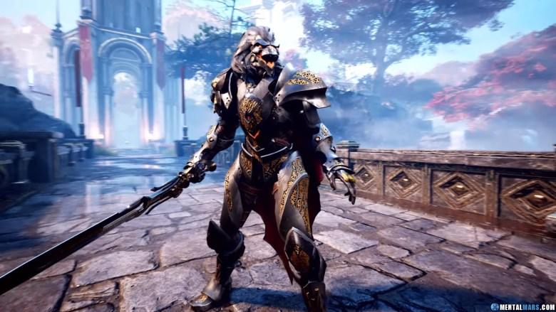 Godfall Longsword Weapon Class