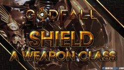 Godfall Shield A Weapon on its own