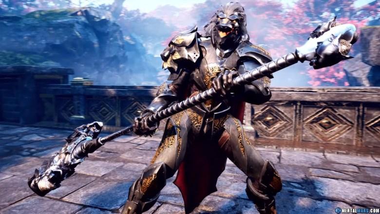 Godfall Warhammer Weapon Class