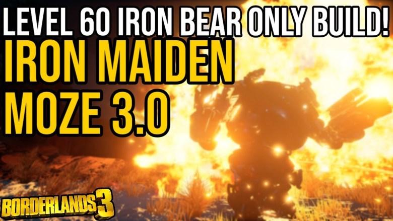 Moze - Iron Maiden 3 Build - Borderlands 3