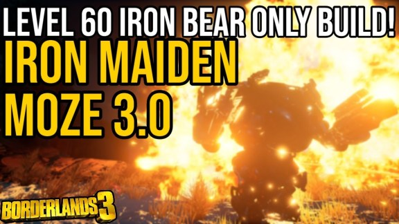 Moze - Iron Maiden 3 Build - Borderlands 3