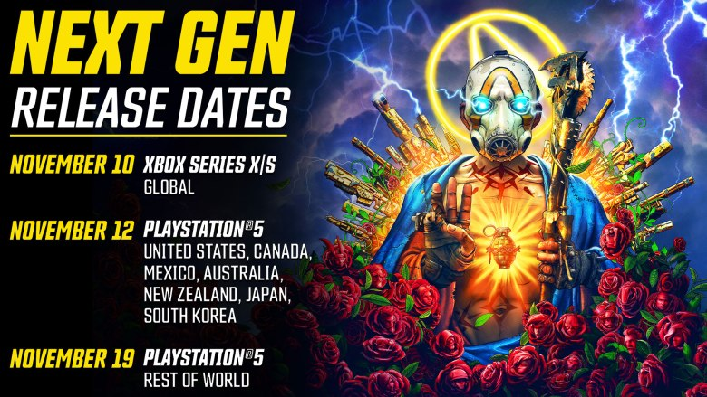 Borderlands 3 Next Gen Launch Date