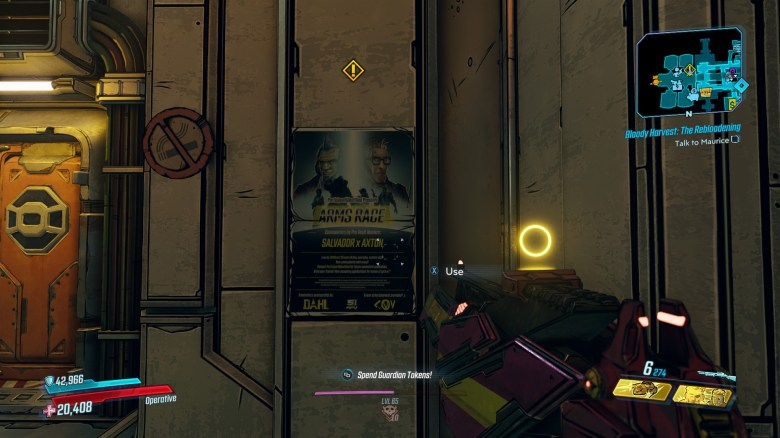 Arms Race Quest Poster - Borderlands 3