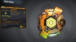 Borderlands 3 Legendary Anshin Shield - Rough Rider