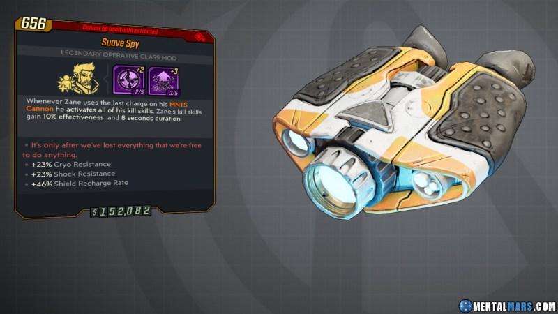 Borderlands 3 Legendary Operative Class Mod - Spy
