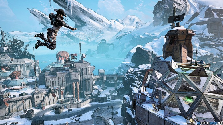 Zane Dropping into Arms Race - Borderlands 3