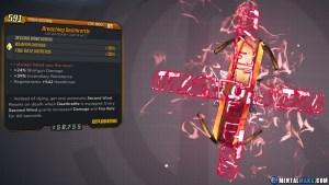 Borderlands 3 Legendary Eridian Artifact - Deathrattle