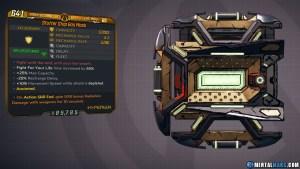 Borderlands 3 Legendary Hyperion Shield - Gas Mask