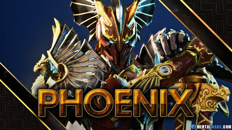 Godfall Phoenix Valorplate