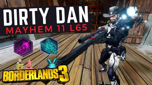 Zane - Dirty Dan Build - Borderlands 3