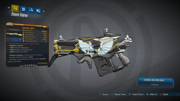 Borderlands 3 Legendary Hyperion Shotgun - Guardian 4N631
