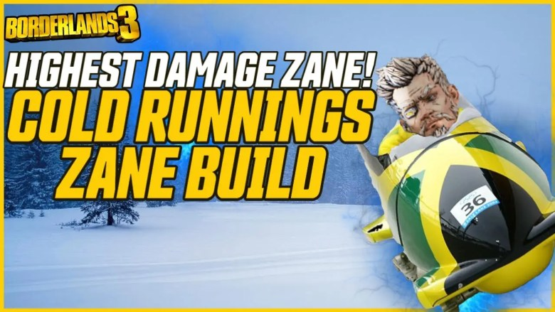 Zane Cold Running Build - Borderlands 3
