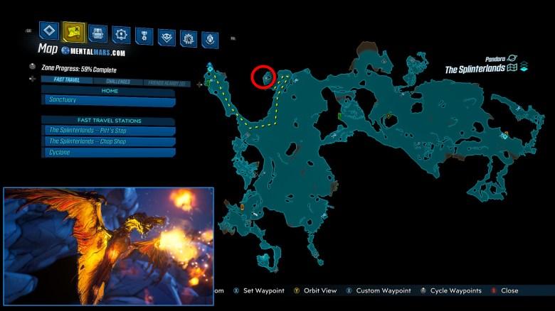 Phoenix Location Guide - Borderlands 3