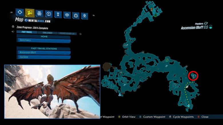 Skrakk Location Guide - Borderlands 3
