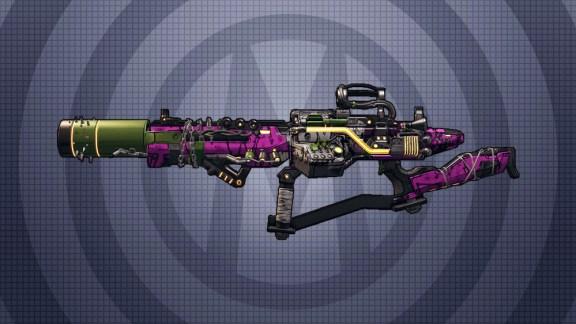 Borderlands 3 Legendary Assault Rifle - Sawbar